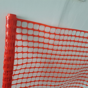 Lightweight orange Roadway Safety Fence