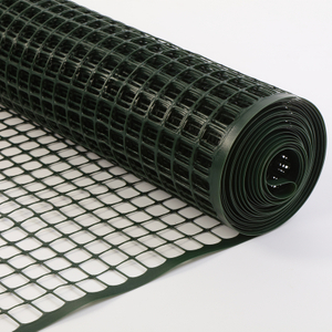 Waterproof Green Construction 1 M Plastic Square Mesh