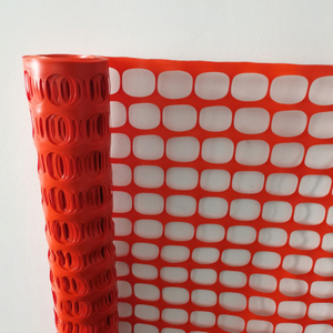 Durable Orange Roadway Safety Fence