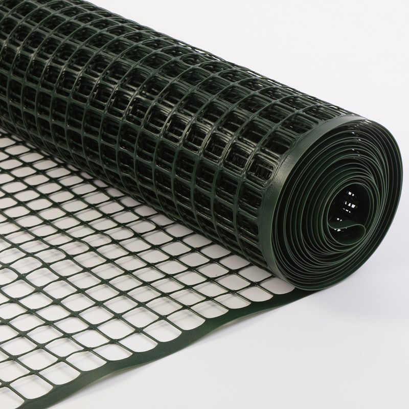 Weatherproof Green Construction 1 M Plastic Square Mesh