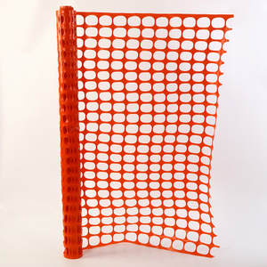 Non-corrosive Orange Roadway Safety Fence
