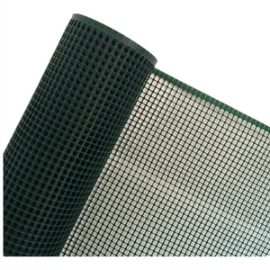 Protective Green Construction 1 M Plastic Square Mesh