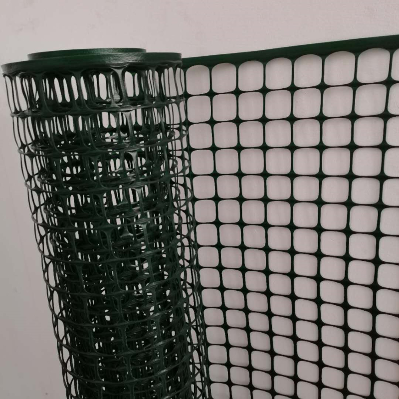 Reinforced Green Construction 1 M Plastic Square Mesh