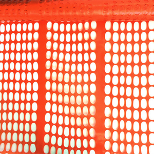 Expandable Orange Outdoor Safety Fence