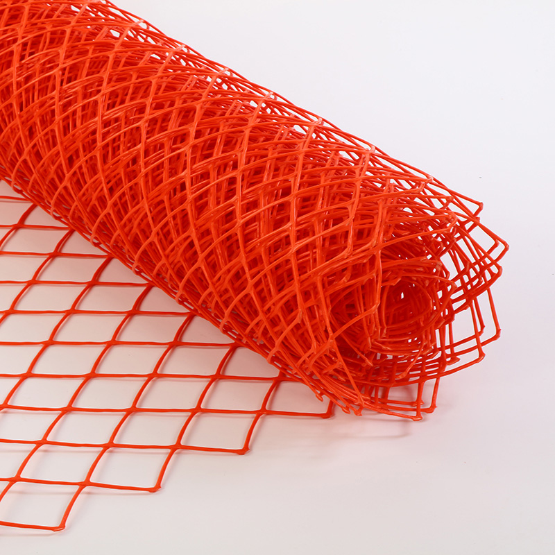 Removable Orange Snow Safety Fence