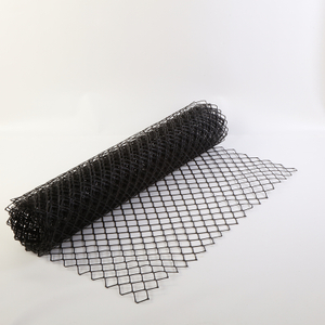 heavy duty HDPE plastic diamond mesh safety fence