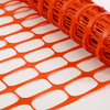 Plastic Orange Safety Barrier Mesh Fencing 1mx50m for outdoor